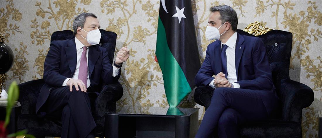 Κυριάκος Μητσοτάκης - Λιβύη