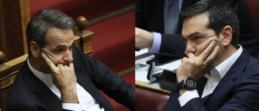 """Προγραμματικές Δηλώσεις: η πρώτη """"μάχη"""" των πολιτικών αρχηγών στην Βουλή"""