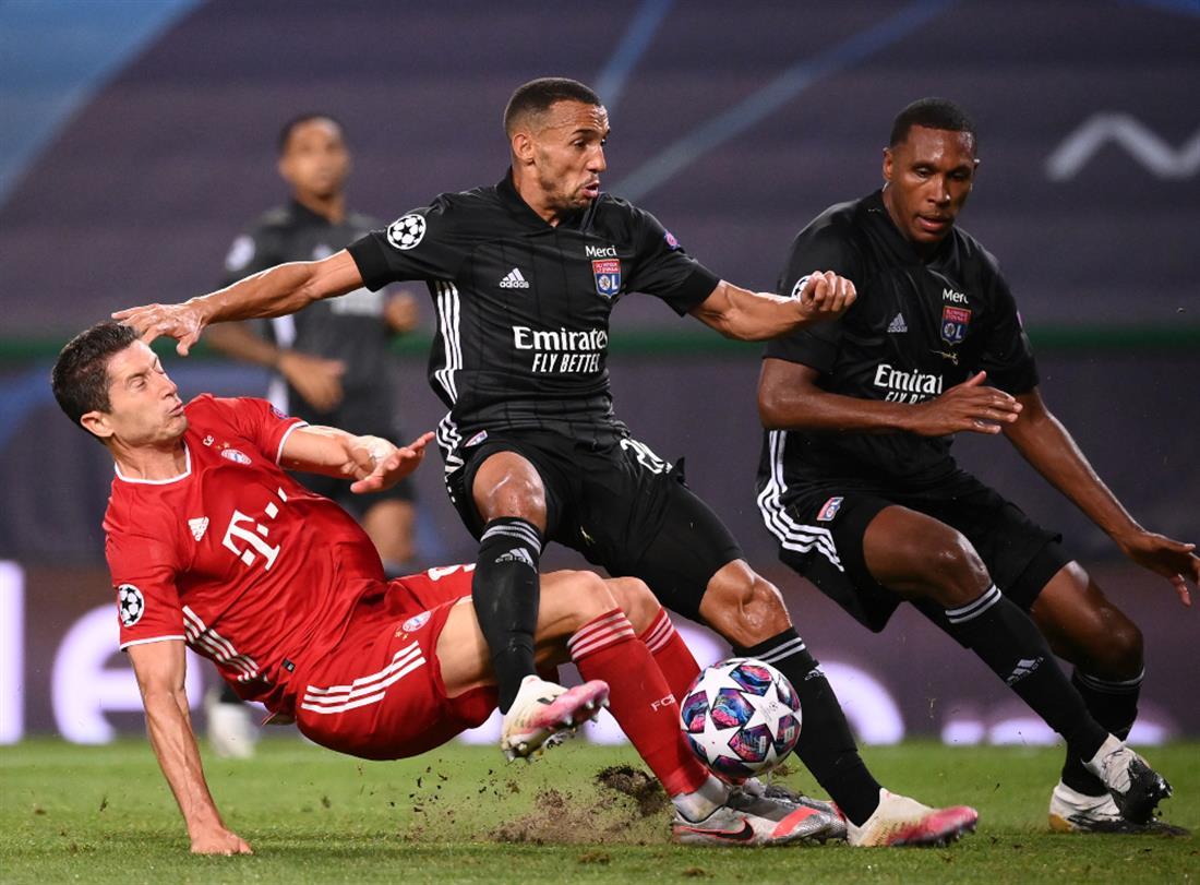 AP - Champions League - Μπάγερν - Λυών