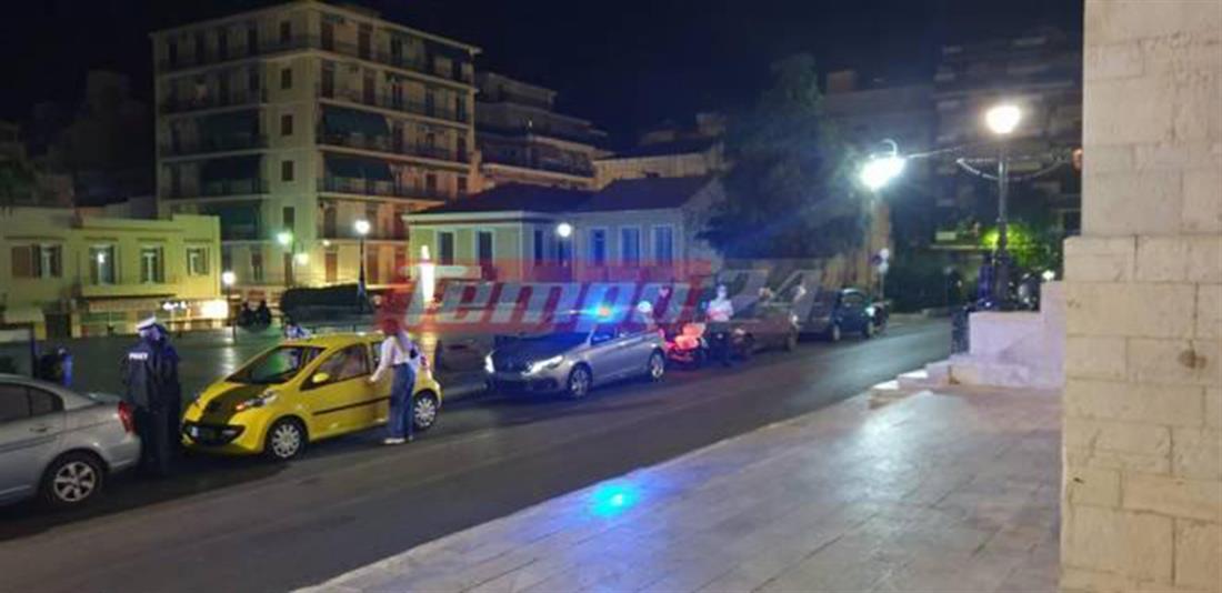 Πάτρα - Αστυνομία - πλατεία Παντανάσσης