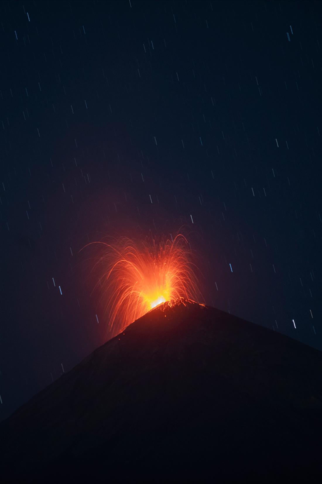 ηφαίστειο Φουέγο - Γουατεμάλα