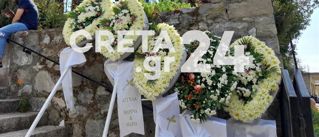 Σεισμός στην Κρήτη - Ιάκωβος Τζαγκαράκης: Θρήνος στην κηδεία του (εικόνες)