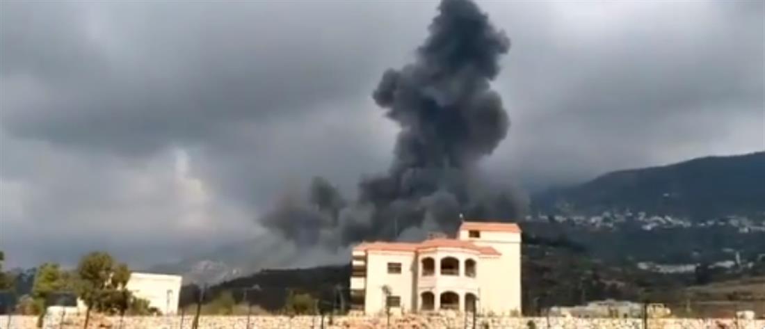 Έκρηξη στον Λίβανο (βίντεο)