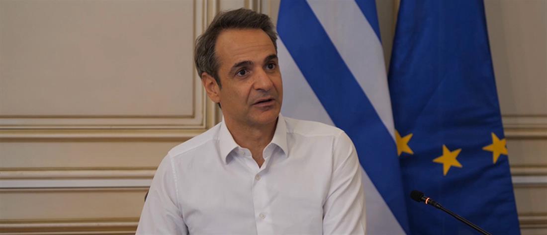 Μητσοτάκης- τηλεδιάσκεψη - YPO