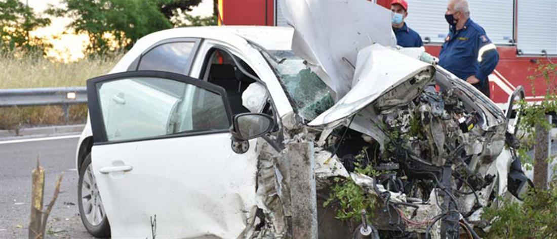 Εγνατία: Φρικτό τροχαίο δυστύχημα (εικόνες)