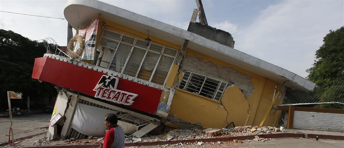 Ισχυρός σεισμός στο Μεξικό