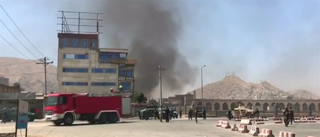 Επίθεση με ρουκέτες κοντά στο προεδρικό μέγαρο στην Καμπούλ (βίντεο)