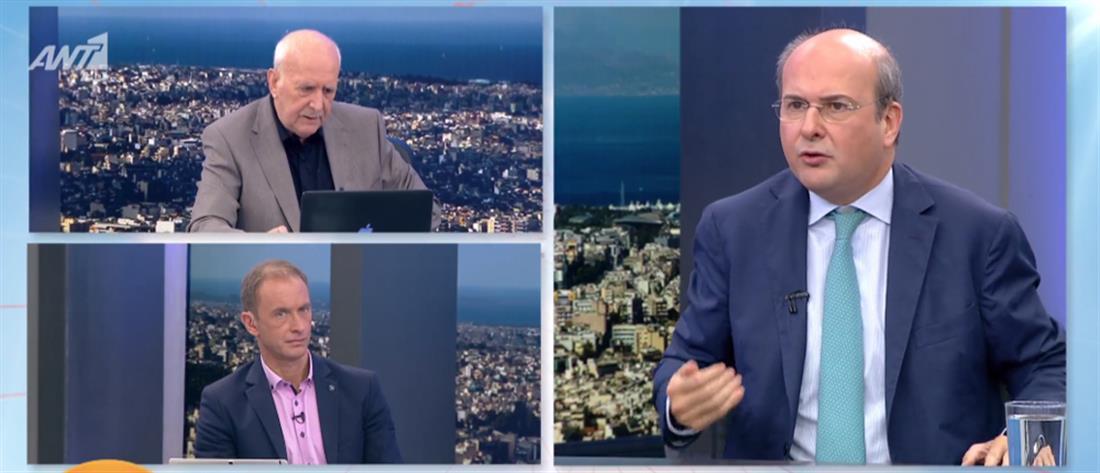 Χατζηδάκης στον ΑΝΤ1: θρασύτατο ψέμα όσα λέει ο ΣΥΡΙΖΑ για τη ΔΕΗ (βίντεο)