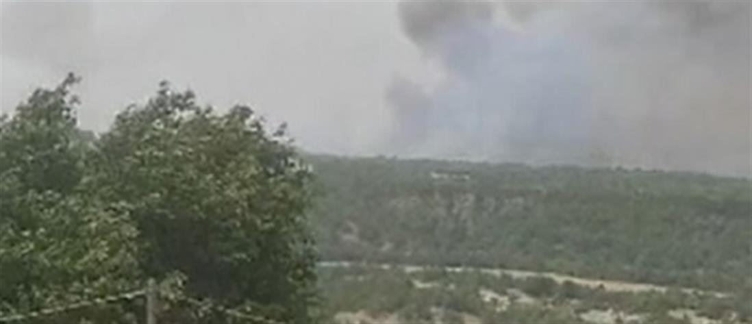 Φωτιά στα Γρεβενά: Εκκένωση οικισμών