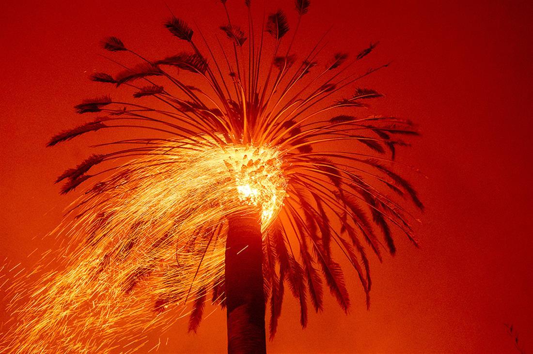 AP - Καλιφόρνια - πυρκαγιά