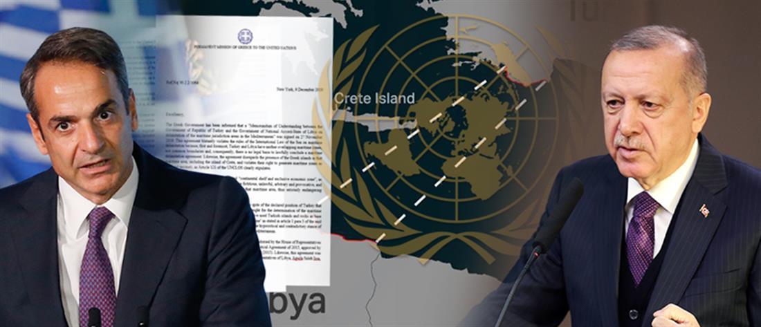 Εκπρόσωπος ΟΗΕ στον ΑΝΤ1: Δεν υιοθετούμε όσα περιλαμβάνει το μνημόνιο Τουρκίας – Λιβύης