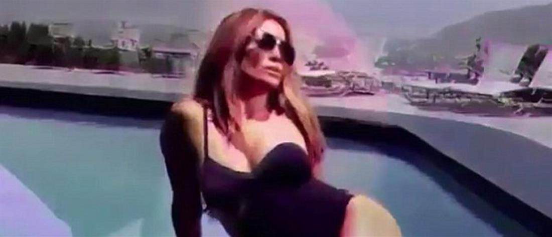 """Τζένιφερ Λόπεζ: """"Καυτή"""" στα 48 της με μαγιό και γόβες – στιλέτο (βίντεο)"""