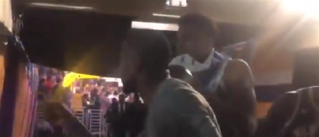 Έλληνας οπαδός έβρισε τους Αντετοκούνμπο (βίντεο)