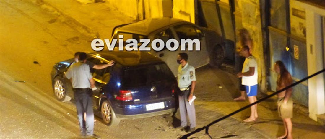 Χαλκίδα: Απίστευτο τροχαίο με μεθυσμένο οδηγό (βίντεο)