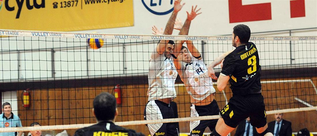 Αναβλήθηκε η έναρξη του πρωταθλήματος της Volley League