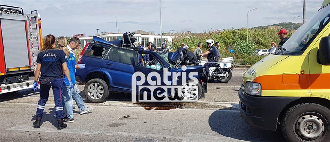 Αιματηρή μετωπική σύγκρουση λεωφορείου ΚΤΕΛ με ΙΧ (εικόνες)