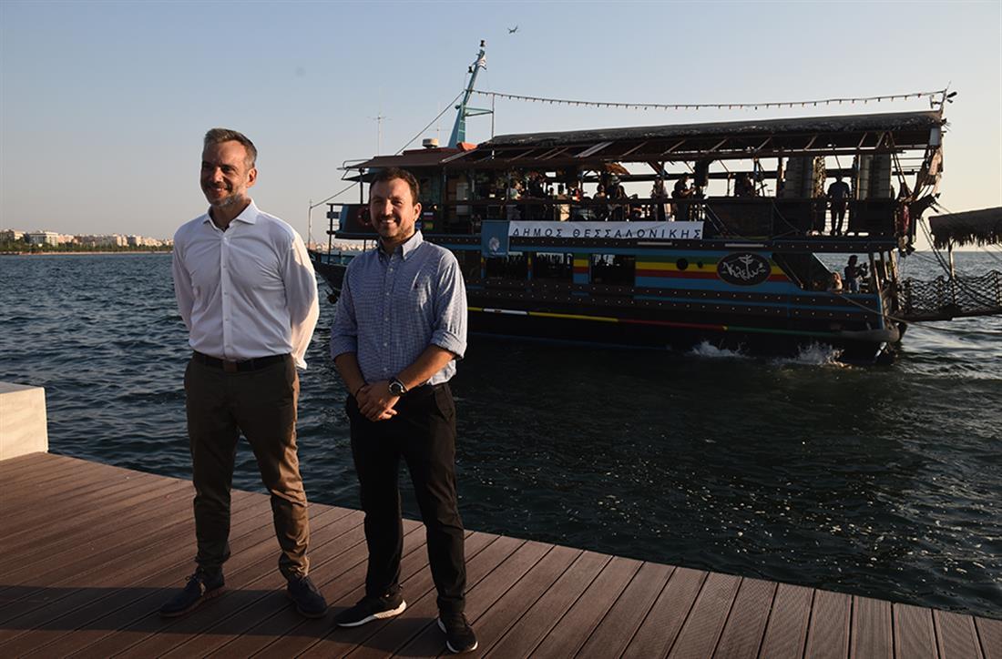 Νίκος Πορτοκάλογλου - συναυλία - πλοίο - Θεσσαλονίκη