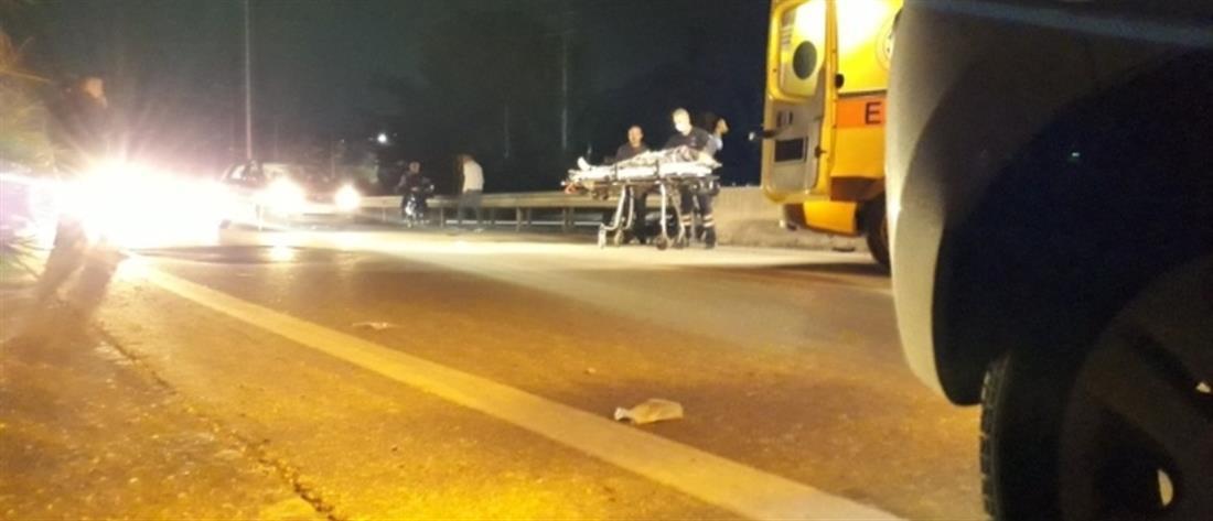 Νεκρός o άνδρας που χτυπήθηκε από δύο αυτοκίνητα (εικόνες)