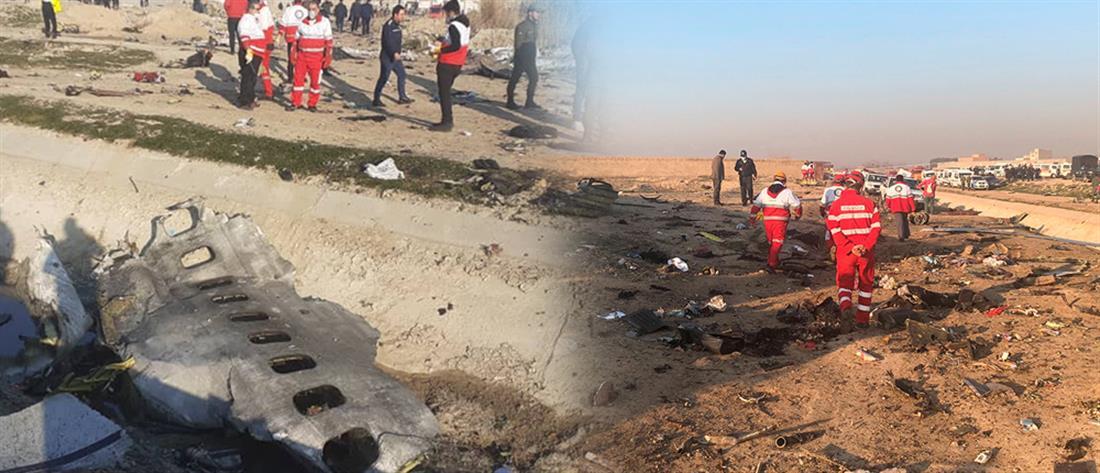 Συντριβή Boeing 737 στο Ιράν: Η πτώση, τα φλεγόμενα κομμάτια και οι δεκάδες νεκροί