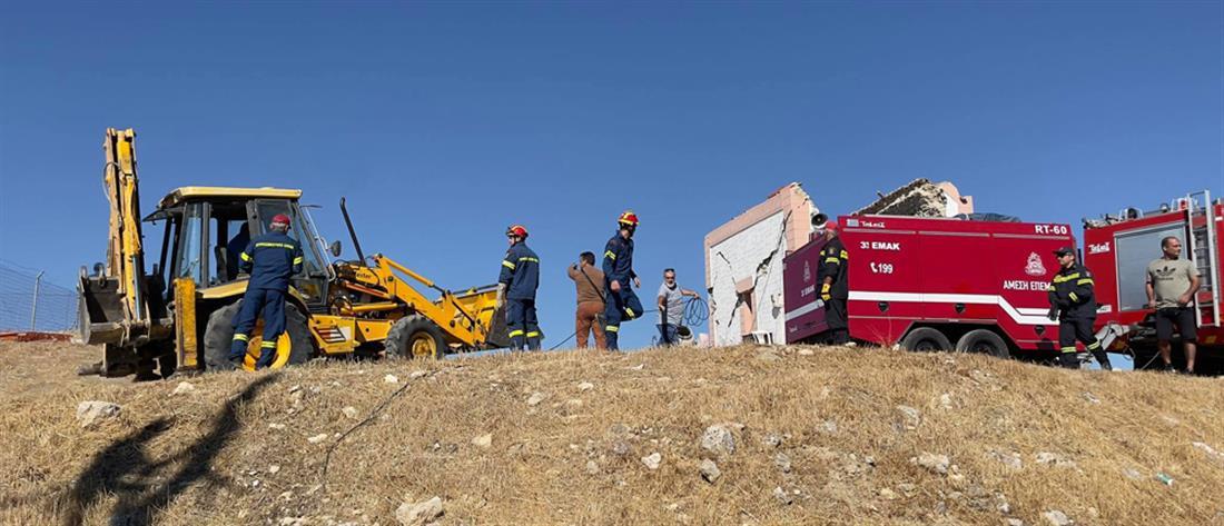 Φονικός ο σεισμός στην Κρήτη (εικόνες)
