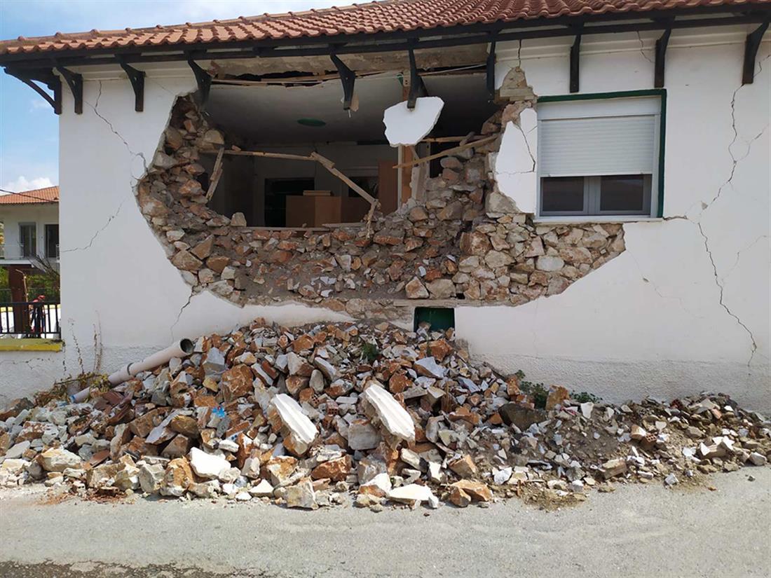 Σεισμός - Δαμάσι