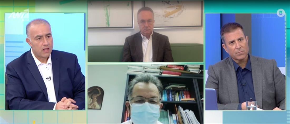 Κορονοϊός - Κομνός στον ΑΝΤ1: πέθανε ο ασθενής που δεν ήθελε να διασωληνωθεί