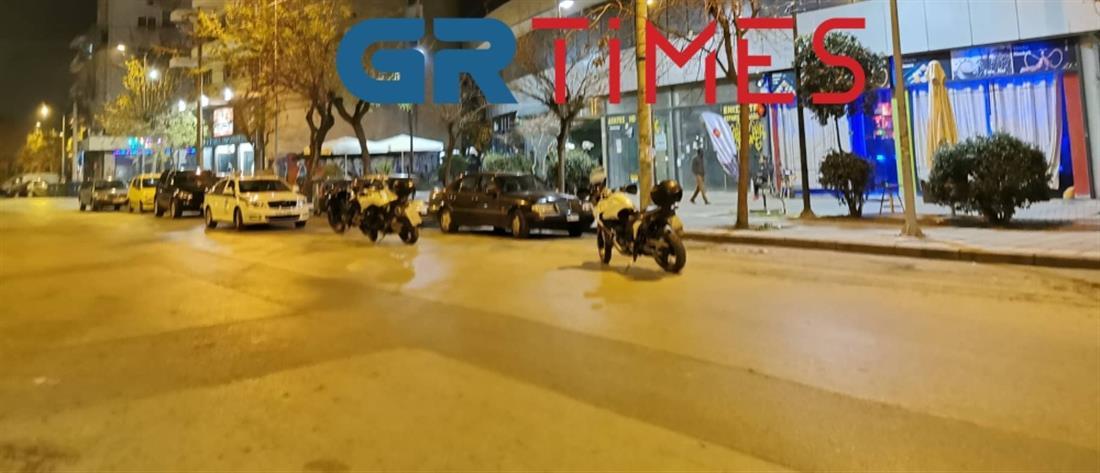 Νέα συμπλοκή στην Θεσσαλονίκη (εικόνες)