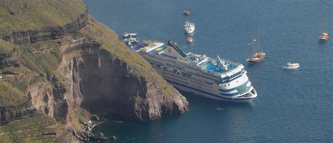 """""""Sea Diamond"""": Εφικτή η ανέλκυση του κρουαζιερόπλοιου, αλλά…"""