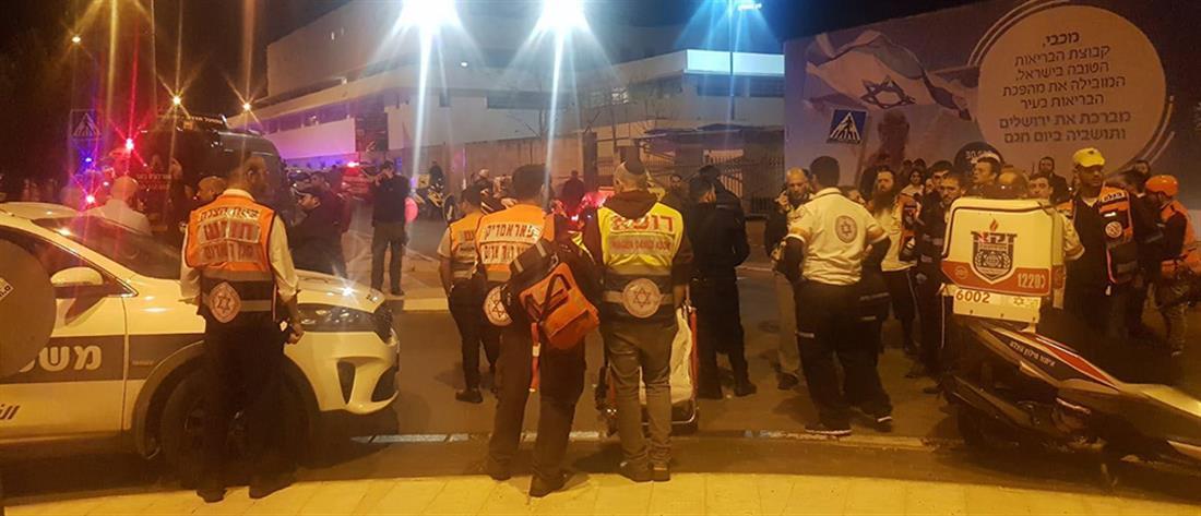 Ιερουσαλήμ: Αυτοκίνητο έπεσε πάνω πλήθος (εικόνες)
