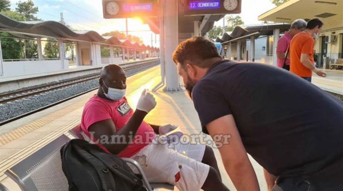Τρένο - Λιανοκλάδι - επιβάτης - κορονοϊός