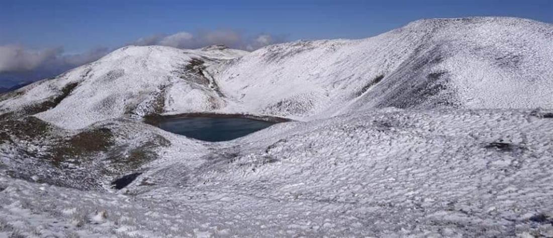 Χιόνισε στην Ήπειρο (εικόνες)