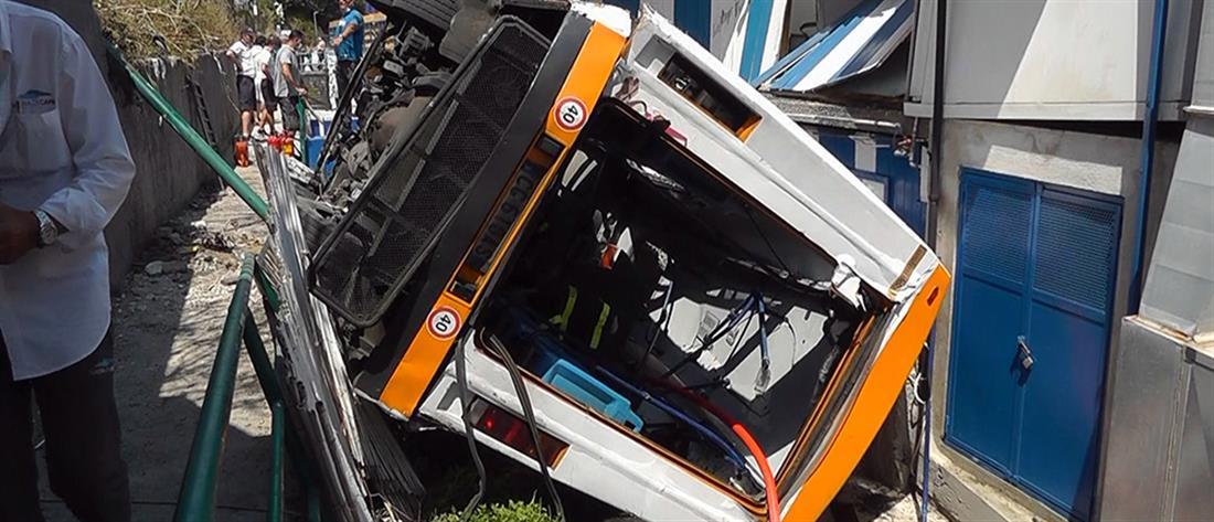 Ιταλία: Τραγωδία με λεωφορείο που έπεσε σε γκρεμό (εικόνες)