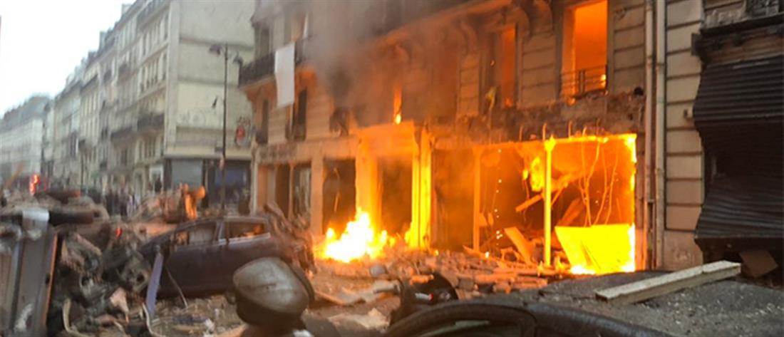 Ισχυρή έκρηξη στο Παρίσι (βίντεο)