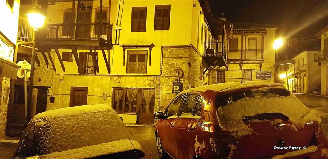 Χαλκιδική - χιόνια