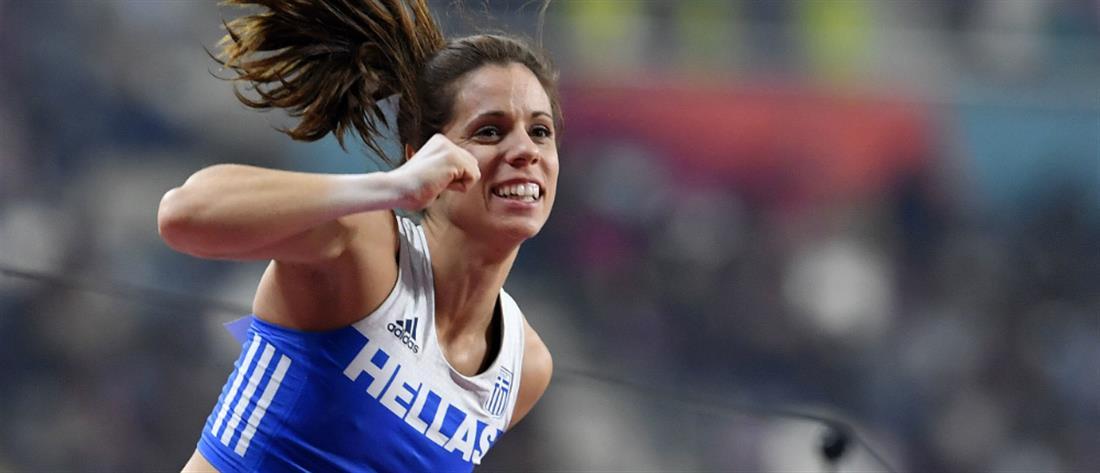 Χάλκινο μετάλλιο για την Κατερίνα Στεφανίδη στο Παγκόσμιο Πρωτάθλημα