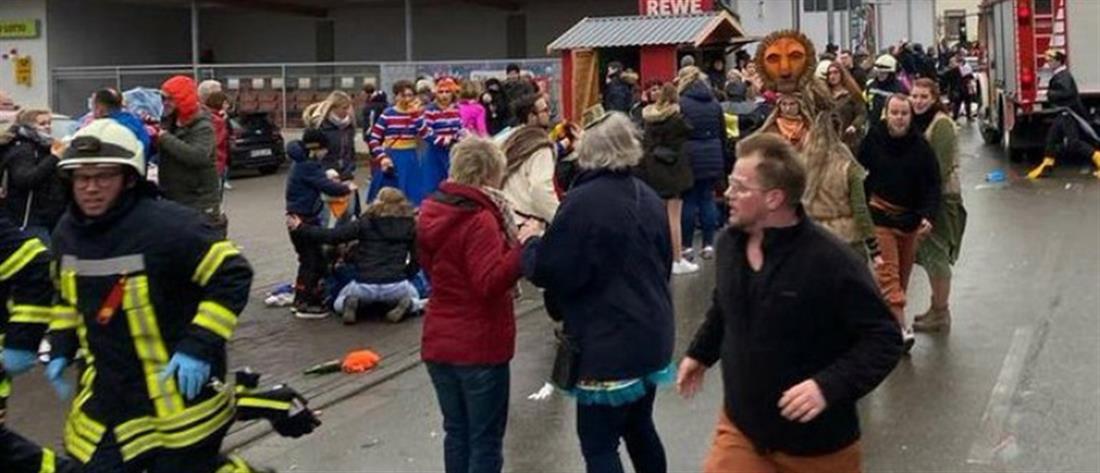 Γερμανία: ερωτήματα για τα κίνητρα του οδηγού που χτύπησε καρναβαλιστές