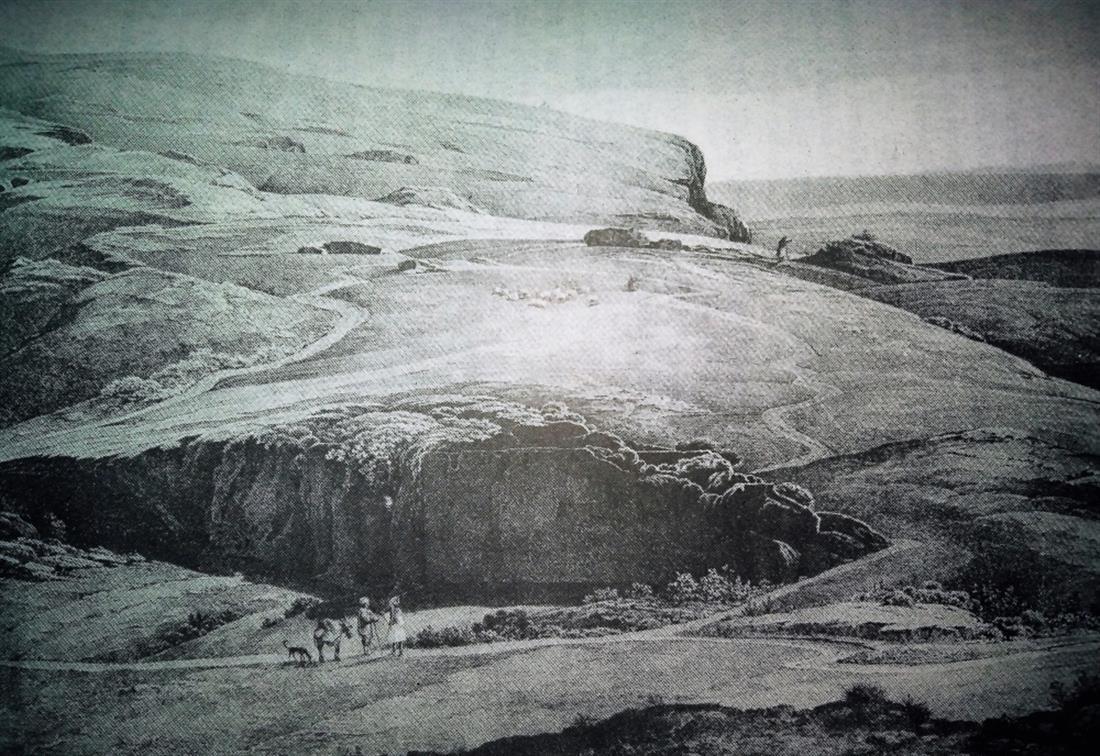 Πανόραμα Αττικής προς Παλαιό Φάληρο - αρχές 19ου αιώνα