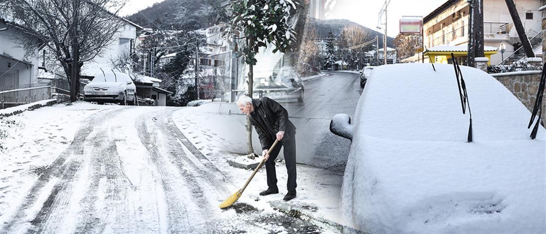 """""""Λέανδρος"""": Έκτακτο δελτίο ΕΜΥ για χιόνια και καταιγίδες"""