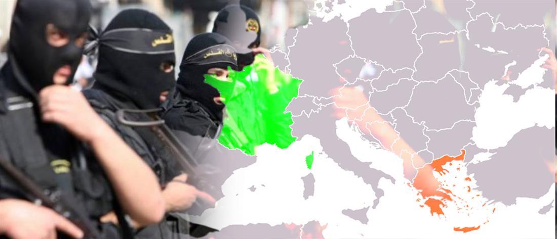 Μέσω Ελλάδας έφθασαν στο Παρίσι δύο απο τους τζιχαντιστές