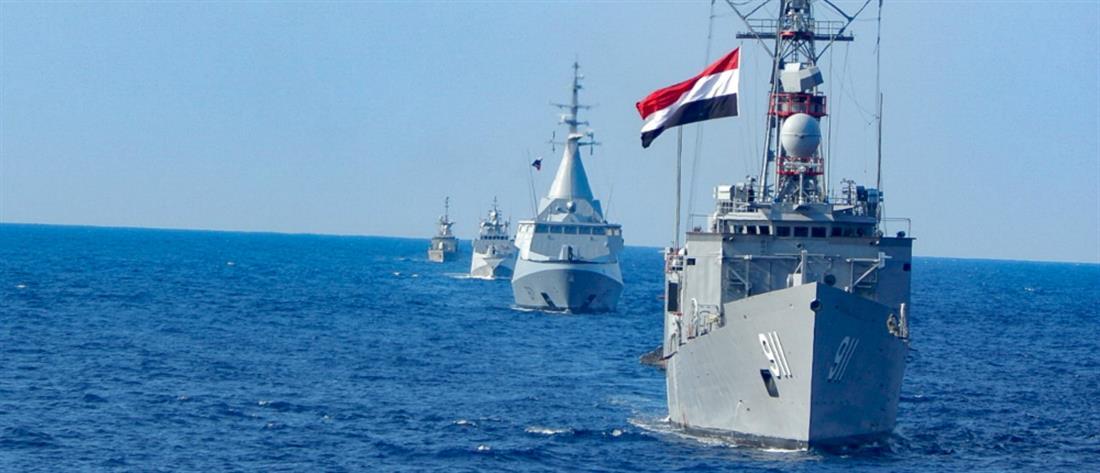 Πολεμικό Ναυτικό: Συνεκπαίδευση Ελλάδας-Αιγύπτου κοντά στην Κάρπαθο (βίντεο)