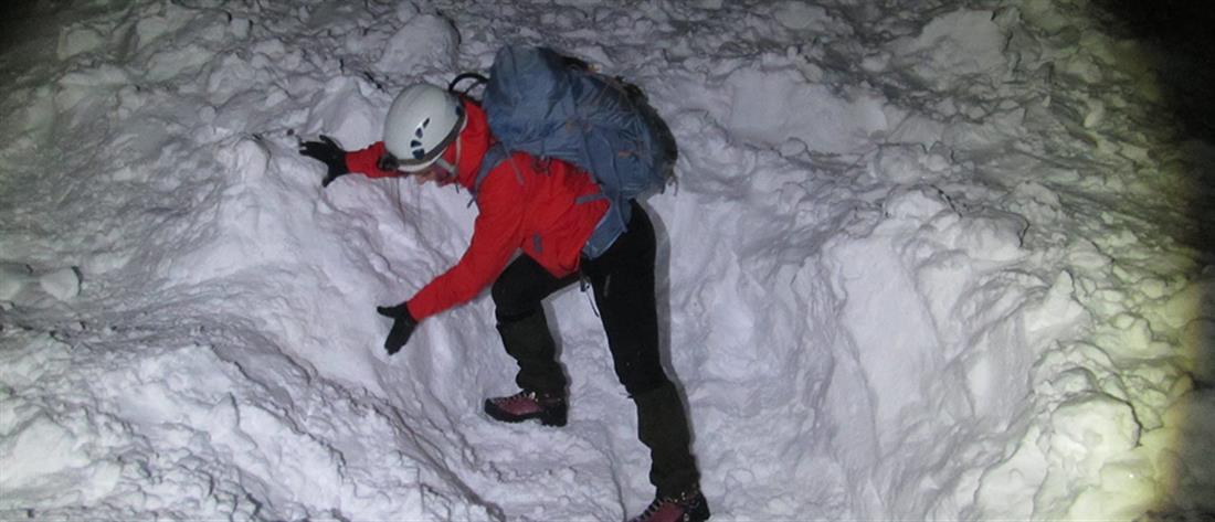 Χιονοστιβάδα στον Όλυμπο: Οδηγίες από την Ελληνική Ομάδα Διάσωσης