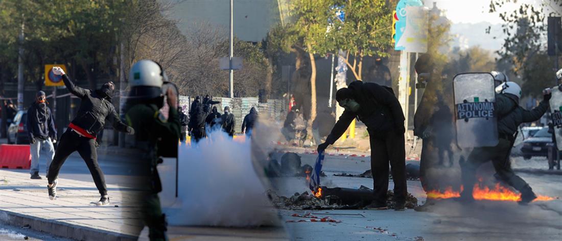 Θεσσαλονίκη: μολότοφ και οδοφράγματα στην πορεία μνήμης του Αλέξη Γρηγορόπουλου (εικόνες)