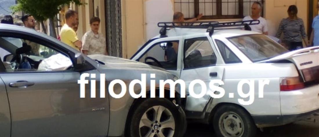 Νεκρός ηλικιωμένος μετά από σύγκρουση αυτοκινήτων (εικόνες)