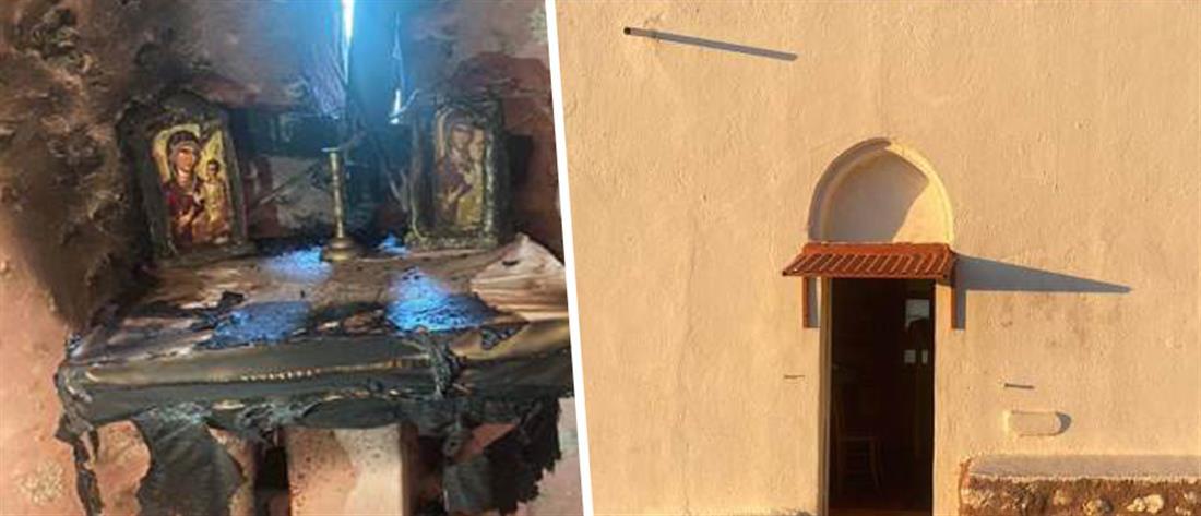 Βανδαλισμός εκκλησίας: Ιερόσυλοι έβαλαν φωτιά στην Αγία Τράπεζα (εικόνες)