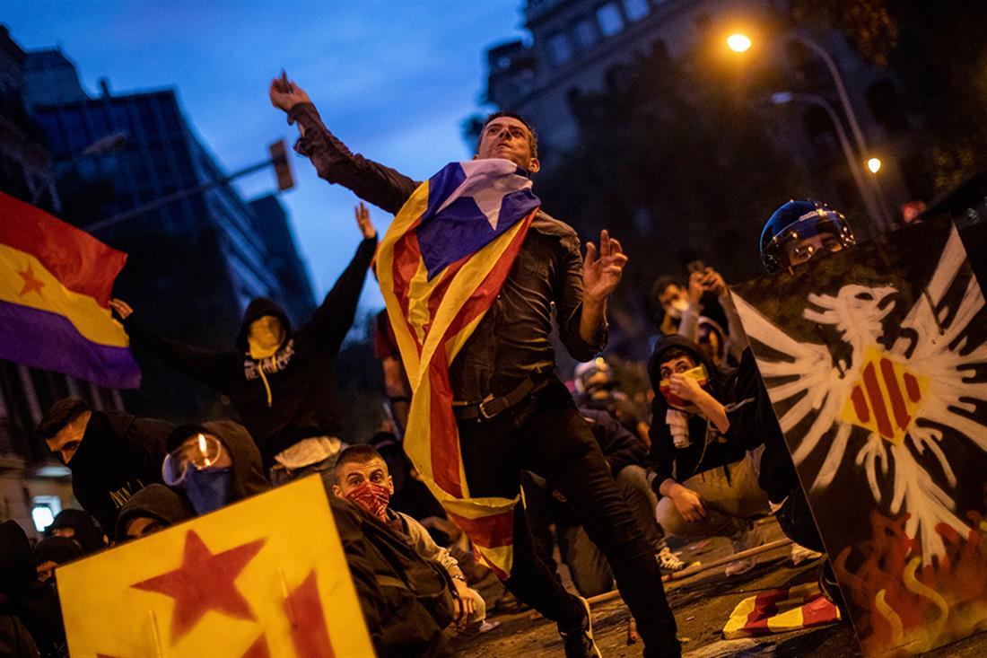 AP - Βαρκελώνη - επεισόδια