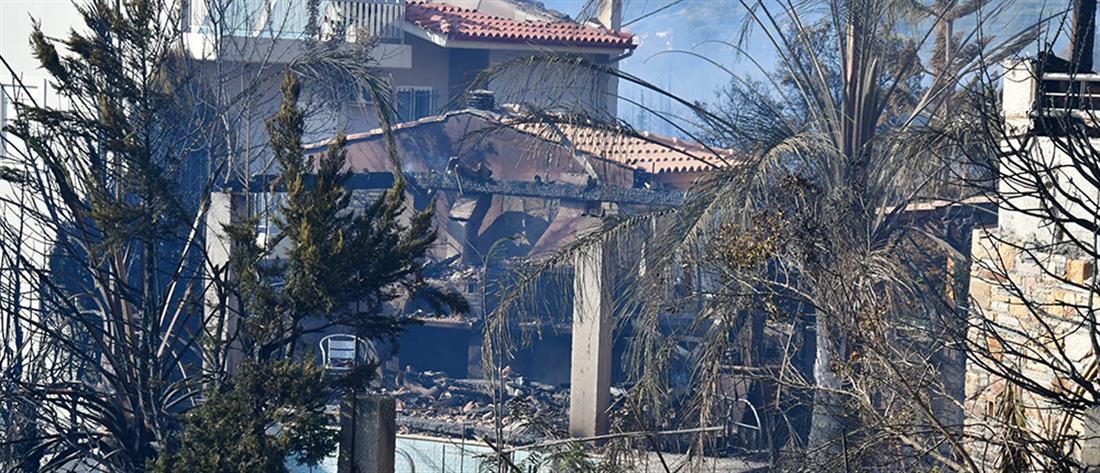 Φωτιά στην Πάτρα: καμένα σπίτια, τραυματίες και απόγνωση (εικόνες)