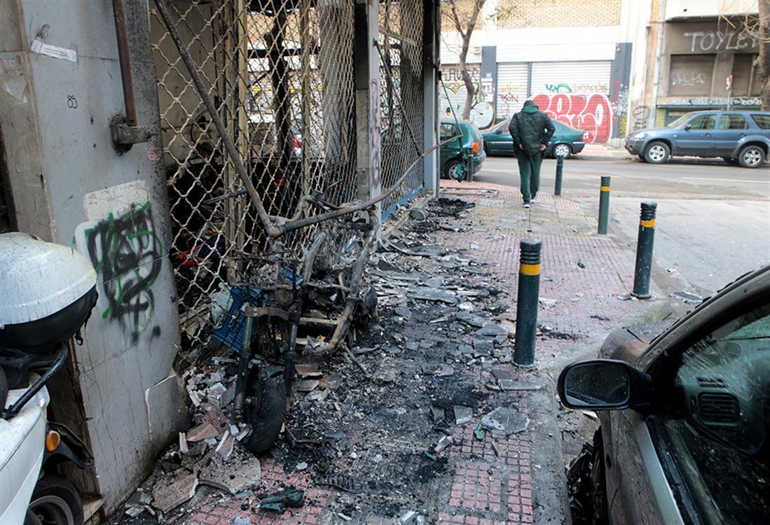 Φωτιά - κατάστημα - Αθήνα