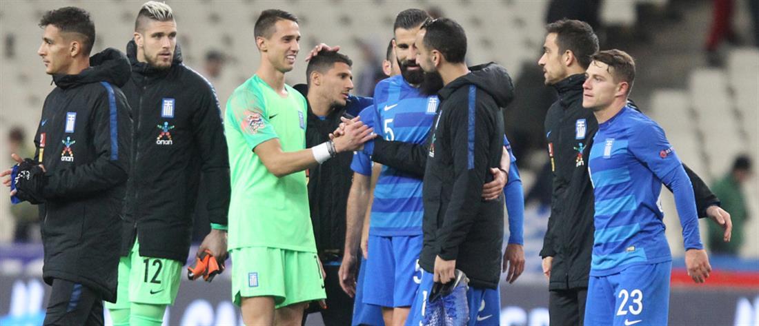 Κατάταξη FIFA: σημαντική άνοδος για την Εθνική Ελλάδας