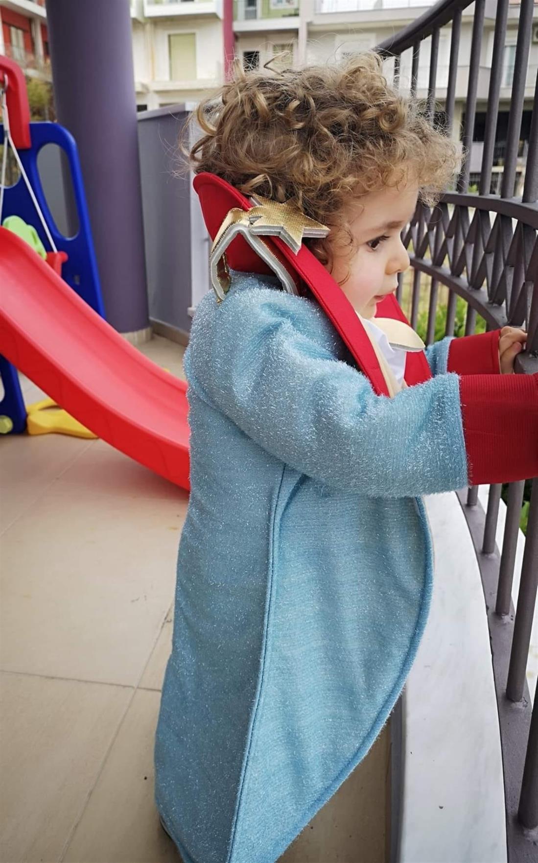 Παναγιώτης Ραφαήλ - μικρός πρίγκιπας - απόκριες