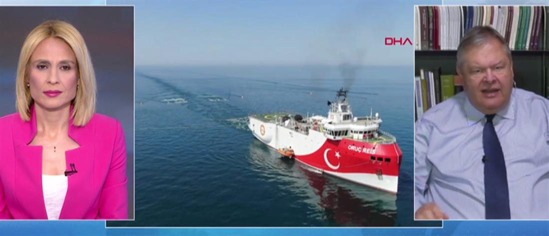 Βενιζέλος στον ΑΝΤ1: ο Ερντογάν δοκιμάζει τις αντοχές μας (βίντεο)